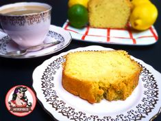 Lemon and Lime Drizzle Cake   Mutherfudger #recipe #cake #teatime
