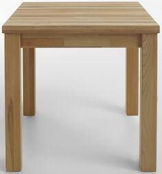 Schöner und zeitloser Esstisch aus geölter Kernbuche lädt zum gemütlichen Verweilen ein. Dieser massive Holztisch ist auch in kleineren Größen erhältlich und somit eine praktische Lösung für kleine Räume und Essgruppen.   Maße:  75 cm Tischhöhe, 4 cm starke Tischplatte, Alle Maße sind ca.-Maße, In folgenden Größen erhältlich (B/T): 80/ 60 cm, 80/80 cm, 120/ 80 cm und 140/ 80cm,  Informationen z...