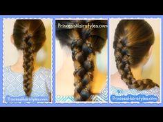Micro Braid Lattice Wrap Hairstyle Tutorial For Long and Medium Hair - YouTube