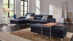 Ein wunderschönes und sehr gut verarbeitetes Sofa in blau. Zeitlos und Elegant