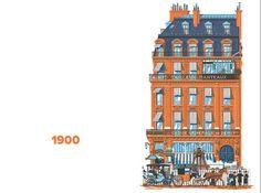 EN IMAGES - Un auteur parisien a réalisé un album représentant le même immeuble parisien, et ses changements successifs au fil de l'Histoire. <i>Le Figaro</i> s'est procuré plusieurs planches.