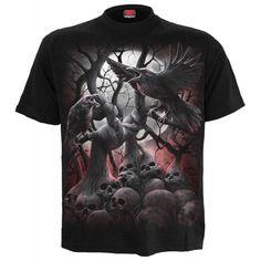 """T-shirt Spiral Gothique """"Dark Roots"""""""