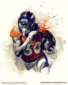 Phillip Lindsay, Denver Broncos - Daily Sports News & Live Stream Fotball Channel Denver Broncos Pictures, Nfl Broncos, Denver Broncos Football, Football Art, Alabama Football, Oklahoma Sooners, College Football, Sports Graphic Design, Graphic Design Posters