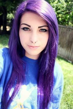 Purple Alternative Hair