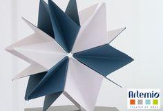 Voici comment réaliser une étoile origami.