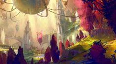 Guild Wars 2 - Divinity's Reach concept art
