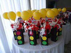 Cars fiesta infantil centros de mesa Super Ideas – My Favorite Hot Wheels Party, Hot Wheels Birthday, Race Car Birthday, Monster Truck Birthday, Race Car Party, 4th Birthday, Disney Cars Party, Disney Cars Birthday, Cars Birthday Parties