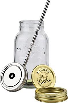 READY TO GO! 1 Litre DELUXE Eco Mason Jars Kilner STAINLE... https://www.amazon.co.uk/dp/B00US6I1AW/ref=cm_sw_r_pi_dp_U_x_a47iAb52RR1CV
