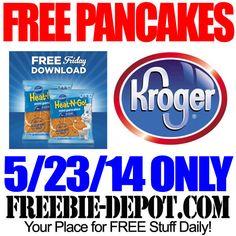 FREE Pancakes from Kroger & Pillsbury