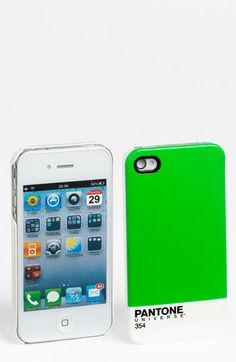 Be still my nerdy design heart! Case Scenario 'PANTONE® Universe™' iPhone 4 & 4S Case   Nordstrom