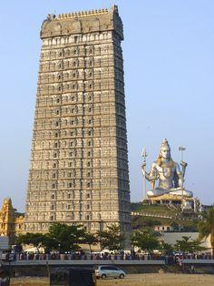 Murudeshwara, Karnataka   IndiaThe largest Shiva temple and the tallest Gopuram in the world.(Photos bySteve Hoge   thejasp)
