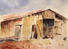 Old barn by guslopezr on @DeviantArt