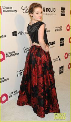 Modern Family's Sarah Hyland & Last Man Standing's Kaitlyn Dever: Elton John Oscars Party 2014! | sarah hyland elton john oscars party 2014 ...