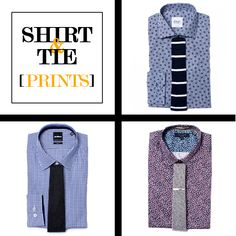 Style Tips | How to Match Your Shirt & Tie: Prints | GOTSTYLE.CA