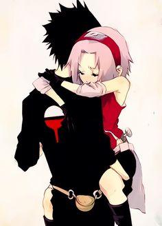 Sasuke and Sakura <3