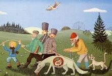 Le conte musical Pierre et le loup instruments mp 3