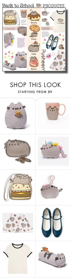 """""""#185) PUSHEEN PRODUCTS"""" by fashion-unit ❤ liked on Polyvore featuring Gund, Pusheen, Monki, contestentry and PVxPusheen"""