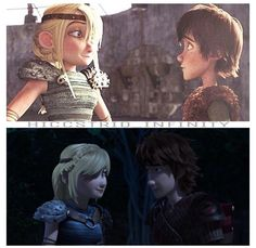 Hiccstrid. HTTYD and RTTE. I LOVE these two!!! XD
