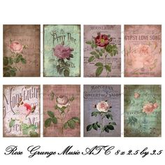 PRINTS ... AND WORK WITH FLOWERS | Learning Crafts is facilisimo.com