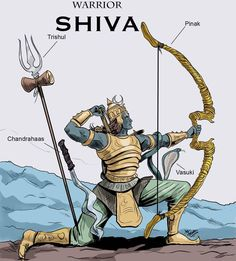 Lord shiva the Worrior concept by Mrinal