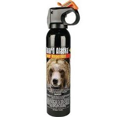Bear Guard Alaska Bear Pepper Spray with Holster *** Learn more by visiting the image link.