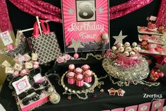 Rock Star Makeover & Karaoke Birthday Party Ideas   Photo 2 of 22   Catch My Party