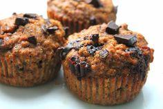 Chocolate Chip Coconut Muffins (Paleo, Gluten-Free)
