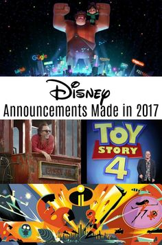 Catch up on some of the big Disney announcements made at the recent D23 event! Disney movie announcements and Disney Parks announcements!