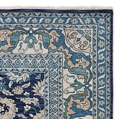 Briar Hand Knotted Rug, Blue #williamssonoma