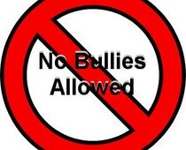No more bullies!