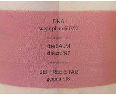Jeffree Star Dupes