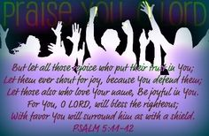 We praise You Lord