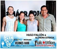 Falcotitlan SUSTENTABLE® POR RADIO Y TELEVISIÓN DE GUERRERO (RTG)  HOY VIERNES 08:00 AM  97.7 FM ACAPULCO y 92.1 FM ZIHUATANEJO  OTROS DISPOSITIVOS: http://rtvgro.net/radio/acapulco977/  #MásRadio     #FalcotitlanSUSTENTABLE        INVITADOS:  ING. VIVIAN HEREDIA HERNÁNDEZ. DIRECTORA DE LA ASOCIACIÓN CIVIL GAIA Y ASESORA AMBIENTAL.  LIC. DANIEL GARZA DELMAR. DIRECTOR DE LA ORGANIZACIÓN SUSTENTARTE EN RIO DE JANEIRO, BRASIL.  TEMA: LOS BOSQUES Y SU EJE SUSTENTABLE.