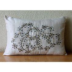 Designer Ivory Lumbar Pillow Cover, Crystals Medallion Lu... https://www.amazon.com/dp/B00VDDN4F6/ref=cm_sw_r_pi_dp_x_.8Edyb60991G0