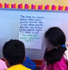 ... Teaching time on Pinterest | Telling time, Elapsed time and Clock
