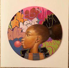 """""""Bubble Letters"""" by Frank Morrison"""