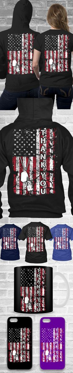Thank You, USA Flag Shirt! Click The Image To Buy It Now or Tag Someone You Want To Buy This For. #usa