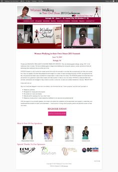 Website design for local small business owner in the DMV area. designed by FPE Services Conference Branding, Website, Business, Design, Store, Business Illustration