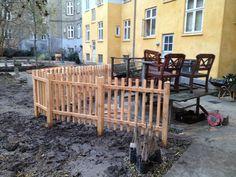 Carpenter Hansen build this ralling for the people living at this place, #Tømrer i Hillerød  #Tømrerhansen #Tømrer Hillerød  #Tømrer i Hundested #Tømrer Hundested