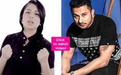 Yo Yo Honey Singh promotes Kick singer Jasmine Sandlas' new song Punjab de javak – watch video! #YoYoHoneySingh