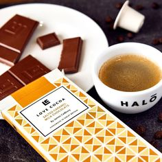"""Halo Coffee on Instagram: """"Coffee and chocolate is one of our all time favourite combinations. We've teamed up with our friends @onelovecocoa to create the ultimate…"""" Cocoa, Halo, Caramel, All About Time, Drink, Chocolate, Coffee, Create, Friends"""