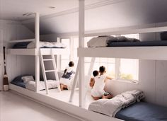 Scandinavian Childrens Bedroom Bunks | Children | Spaces | Share Design | Home, Interior Design, Architecture, Design Ideas & Design Inspiration Blog