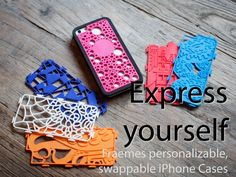 Fraemes is raising funds for Fraemes: Personalizable, swappable, iPhone cases on Kickstarter! Fraemes are the new look of iPhones. They turn your phone into a billboard to show off your style using the latest printing tech. 3d Printing Diy, 3d Printing Service, 3d Drawing Pen, 3d Printer Designs, 3d Printing Technology, 3d Prints, Pen Case, Picture On Wood, Geek Gifts