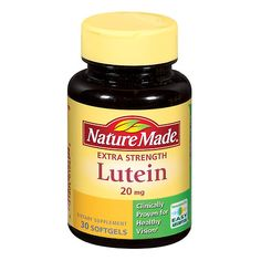 82c595d9636 Nature Made Lutein 20 mg Dietary Supplement Liquid Softgels - 30 ea