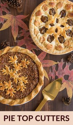 Create beautifully designed pie tops for your favorite fall pies. Easy to use to embellish with apple and leaves designs. Great for Thanksgiving recipes! Chocolate Hazelnut Cake, Chocolate Recipes, Baking Recipes, Dessert Recipes, Thai Recipes, Bread Recipes, Dinner Recipes, Pie Cutter, Biscuit Sandwich