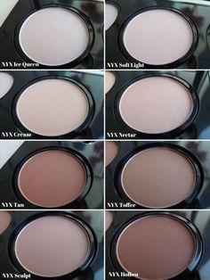 nyx-highlight-contour-pro-palette-shades-names