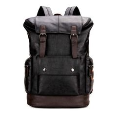 POLO Vicuna -  Leather Backpack For Travel