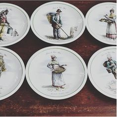 Your place to buy and sell all things handmade Decor Vintage, Vintage Items, Wall Pockets, French Decor, Plated Desserts, Decoration, French Vintage, I Shop, Decorative Plates