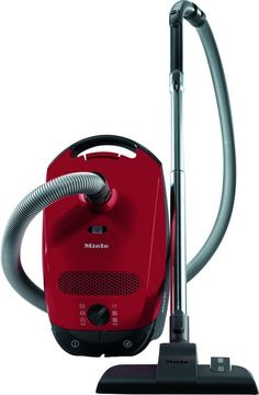 Miele Vaccum Cleaner Cylinder with Bags 4.5Litre 1400W Classic C1 Junior Red NEW