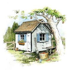 Create this multipurpose garden shed to serve as a compact getaway for your favorite activities.